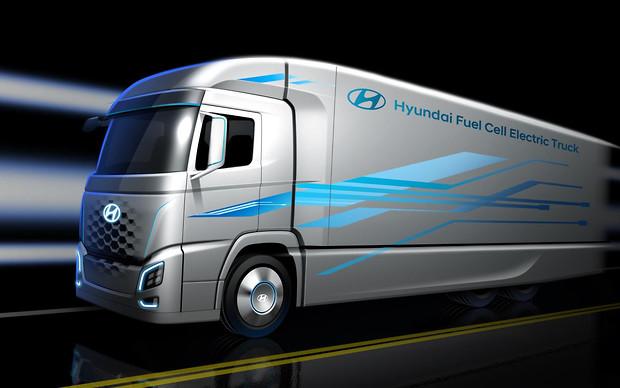 Первая тысяча водородных грузовиков Hyundai отправится в Швейцарию