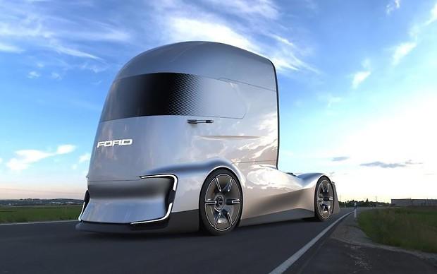 Большой и самостоятельный: Ford представил фуру-беспилотник. ВИДЕО