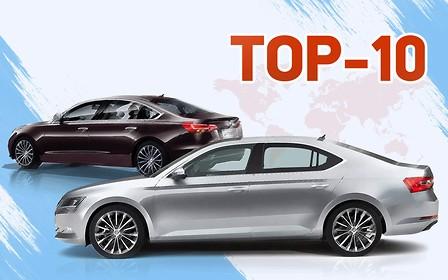Топ-10 бизнес-авто 2018 года