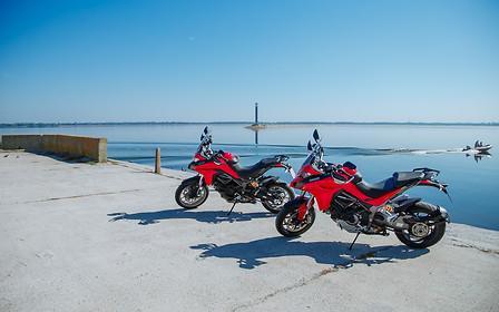 Тест-драйв Ducati Multistrada 1260S и Multistrada 950: Мультики бывают разные