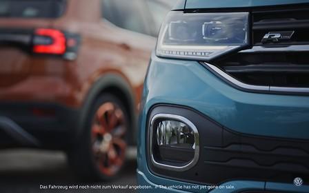 Новый Volkswagen T-Cross не дождался премьеры. ВИДЕО