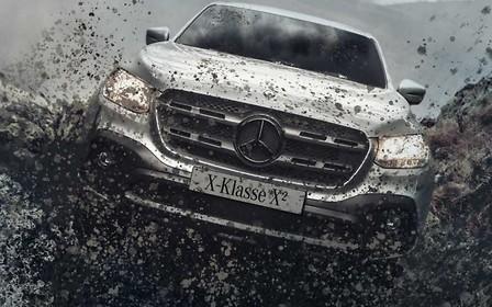 Икс в квадрате. В Германии подготовили бескомпромиссно внедорожный Mercedes X-class Х2