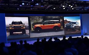 Кроссовер Bronco «случайно» показали на встрече дилеров Ford