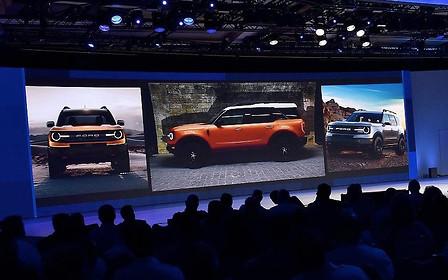 Кросовер Bronco «випадково» показали на зустрічі дилерів Ford