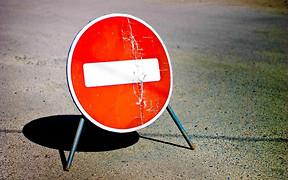 В Укравтодоре составили список перекрытых дорог