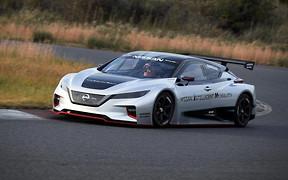 Nissan показал, как будет выглядеть самый быстрый Leaf