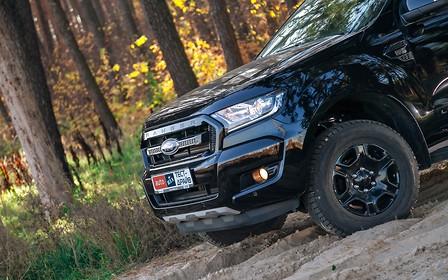 Тест-драйв Ford Ranger Black Edition: Скромность напоказ