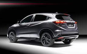 Черный и горячий. Honda HR-V получил спортивную версию