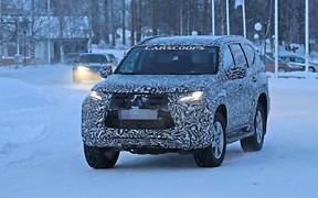 Обновленный Mitsubishi Pajero Sport попался на испытаниях