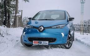 Тест-драйв Renault ZOE