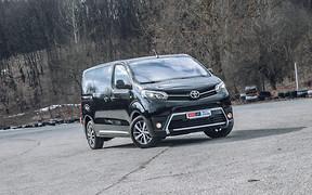 Тест-драйв Toyota Proace Verso: По своим правилам