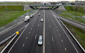 Минус 25 см. Левая полоса на украинских дорогах станет уже. ОПРОС