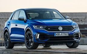 «Заряженный» Volkswagen T-Roc R. Малыш с гонором. ВИДЕО