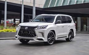 Lexus LX — еще и «шестисотый»? Японцы готовят обновление флагмана