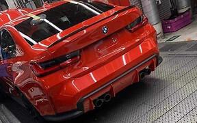 В Сети появилась первая фотография новой BMW M3