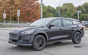 Включили в Active. Новый Ford Mondeo испытывают во вседорожном исполнении