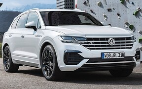 Самый быстрый Volkswagen Touareg будет гибридом