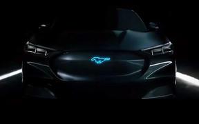 Электро-кроссовер Ford Mustang Mach-E: есть фото до премьеры!