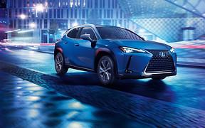 Первые фото и видео нового электромобиля из Японии - Lexus UX 300е