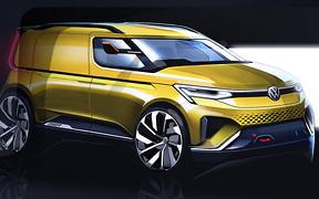 Новый VW Caddy покажут в следующем году. Каким он будет?