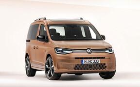 Новейший Volkswagen Caddy рассекретили до премьеры