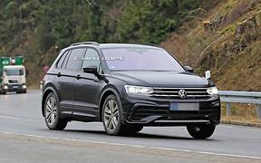 Оновлений Volkswagen Tiguan готується до прем'єри