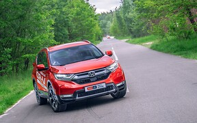 Тест-драйв Honda CR-V Hybrid: Легкий на підйом