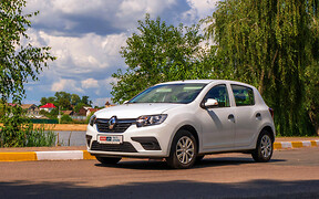 Тест-драйв Renault Sandero с ГБО. Операция «Газификация»