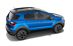 Активный на передок. Ford EcoSport Active рассекречен… Ну, почти