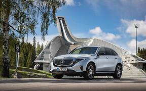 Электрический Mercedes-Benz EQC везут в салоны официальных дилеров. Почем?