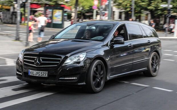 Mercedes-Benz готовит преемника R-Class?
