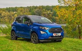 Тест-драйв Ford EcoSport ST-Line. Стильный малый