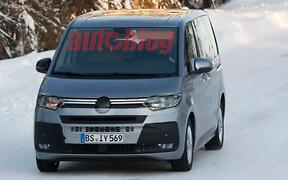 Новый Volkswagen Multivan — почти без камуфляжа