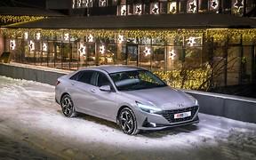 Тест-драйв Hyundai Elantra: Не просто красуня