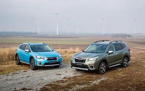 Почем в гривнах? Объявлены цены гибридных Subaru XV и Forester