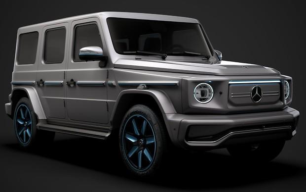 Електричний Mercedes-Benz G-Class: ім'я є! Як довго чекати?