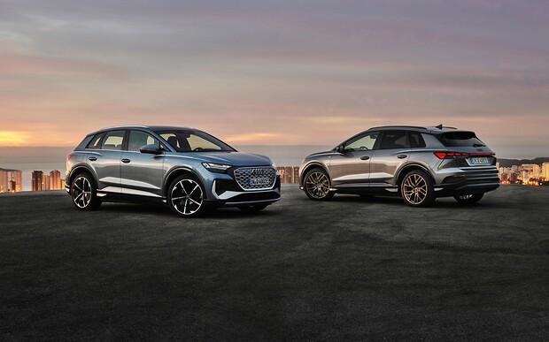 Електрокар Audi Q4 E-Tron. Подивимось усі варіанти?