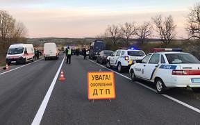 Самые опасные дороги Украины с начала 2021-го