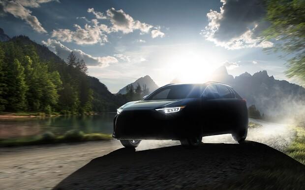 В Subaru анонсували повністю електричний кросовер