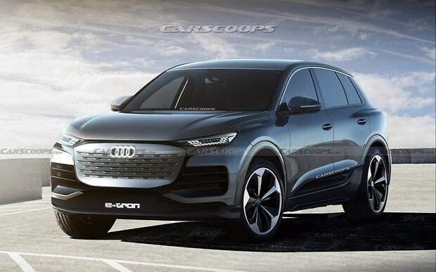 Электрический кроссовер Audi Q6 E-Tron: каким он будет?