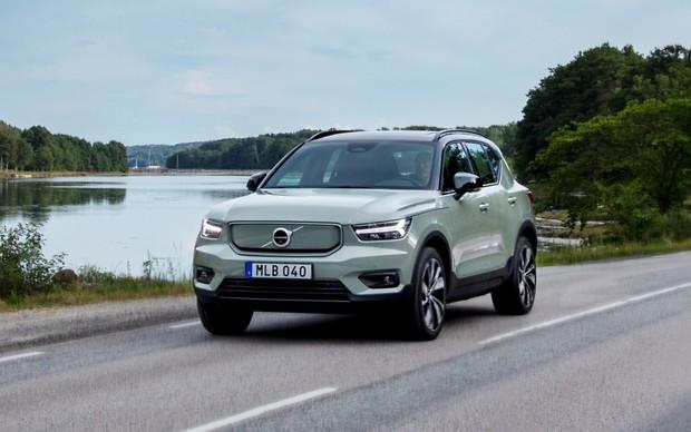 В Украине стартуют продажи электрокроссовера Volvo. Что с ценой?