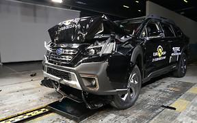 Новый Subaru Outback разбили в Euro NCAP. Сколько звезд?