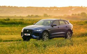 Тест-драйв Jaguar F-Pace: спортивный универсал для плохих дорог