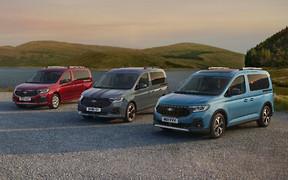 Новый Ford Tourneo Connect породнился с VW Caddy. Есть первые фото!
