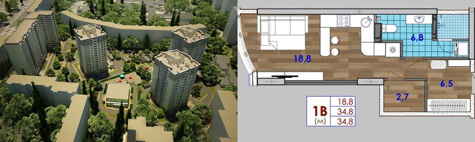 Смарт-квартира в Одессе