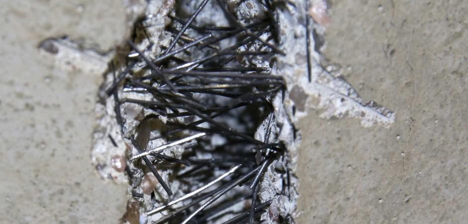 армирование железобетона металлической фиброй