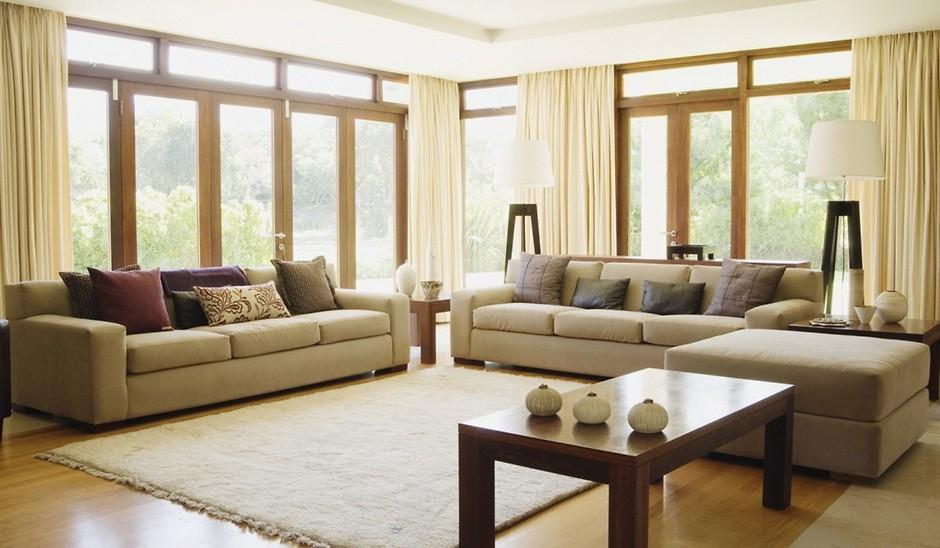 Мебель в зале как расставить