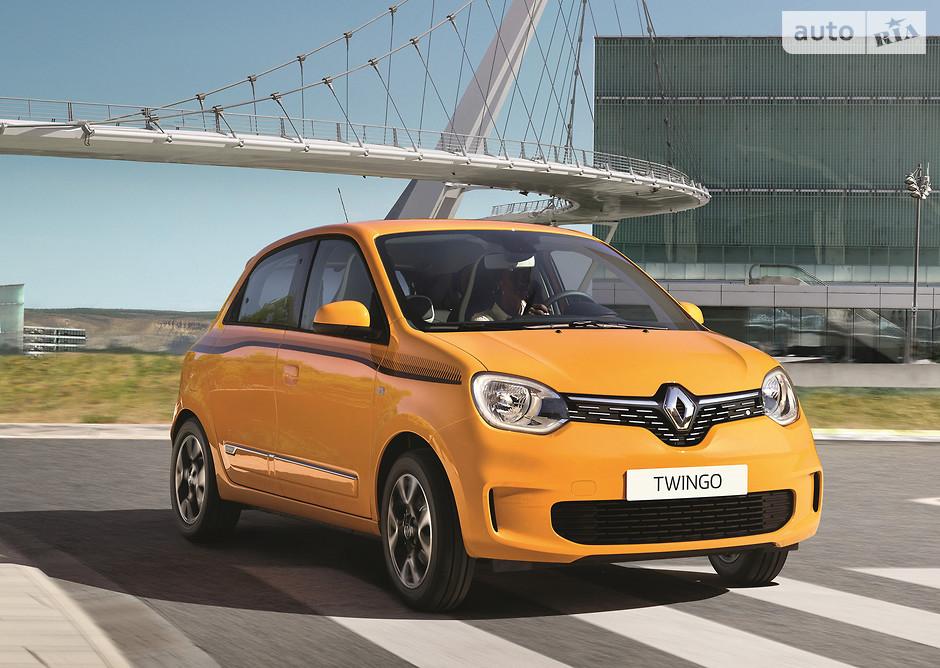 обновленный Renault Twingo