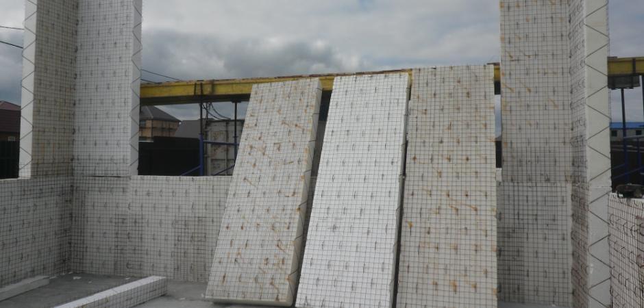 Технология строительства из армированных 3D-панелей