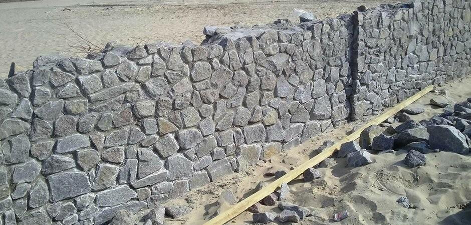 преимущества бутового камня